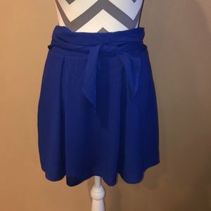 Blue skirt size small